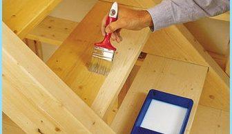 Hur man målar en trä stege