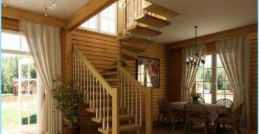 Hur man gör en spiraltrappa till andra våningen, vind