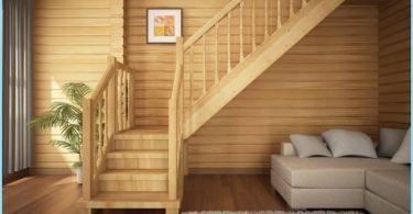 Trappor för stugor och privata hem med bilder