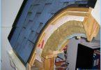 Anordningen för profilerade tak paj