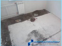 Hur man torkar avdragare golvet med sina händer