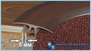 Tjockleken hos laminatet till substratet