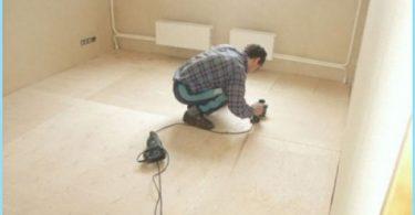 plywood golvet