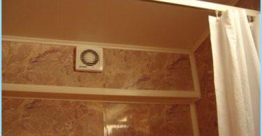 Hur man installerar huven i badrummet, elschema