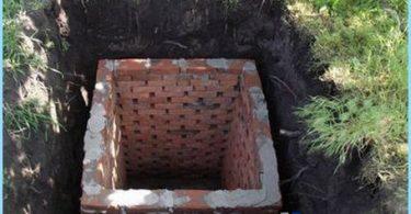 Konstruktion av toaletter i landet med sina egna händer