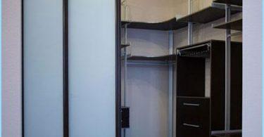 Placering av hyllor i omklädningsrummet