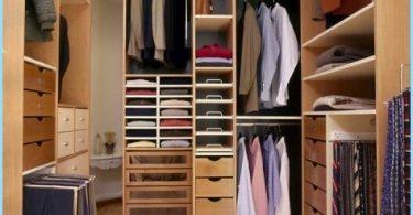 Utformning garderob liten storleken på rummet