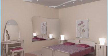 Design tak gipsskivor sovrum med bilder