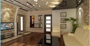 Tak design för vardagsrummet