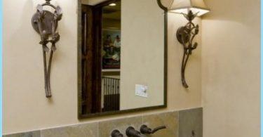Design spegeln i badrummet