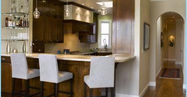 Kök med bardisk: Modern design