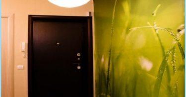 Foto vägg i korridoren och korridoren