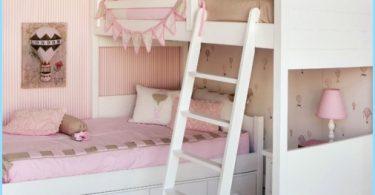 Barnets rum för två flickor