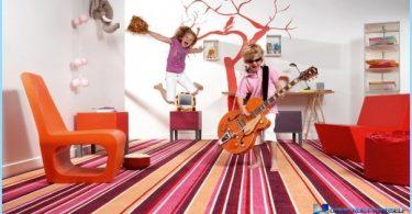 Golvet i barnkammaren