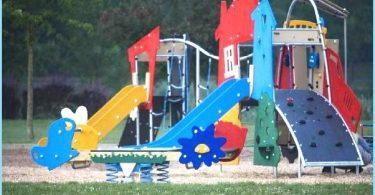 Installation av lekplats med sina egna händer