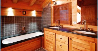 Hur man gör badrummet i ett trähus