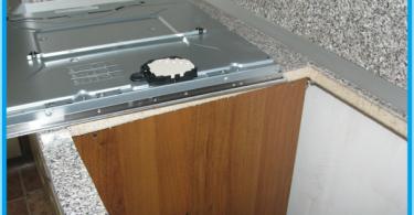 Hur man installerar hällen i bänkskivan