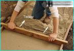 Hur man gör dina egna händer stenpartier - planteringsplan och ett exempel på anordningen