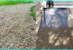 Olika typer av återvinning och sanering av jord en trädgård webbplats