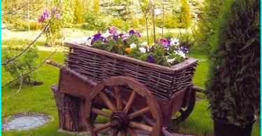 Trädgård bänk för att ge sina egna händer - 6 projekt i bilder