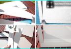 Filter rengöring trädgård damm med händerna: två hemlagad version