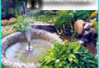 Dekorativ fontän med sina egna händer i landet och i trädgården - steg för steg instruktioner